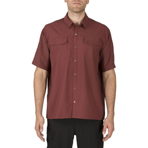 5.11 Tactical Freedom Flex Woven Short Sleeved Shirt - Spartan
