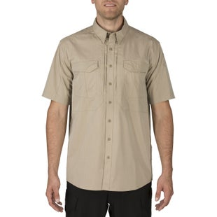 5.11 Tactical Stryke Short Sleeve Long Sleeve Shirt - Khaki
