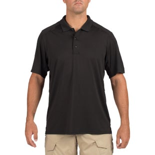 5.11 Tactical Helios Polo Shirt - Black