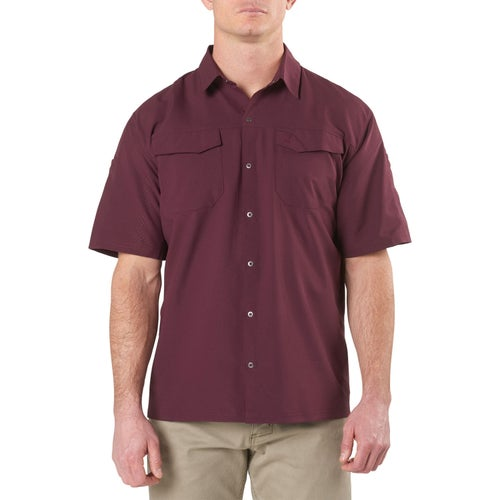 5.11 Tactical Freedom Flex Woven Short Sleeved Shirt - Napa