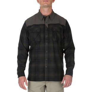 5.11 Tactical Sidewinder Flannel Long Sleeve Shirt - Grenade