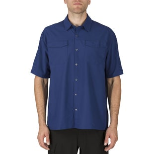 5.11 Tactical Freedom Flex Woven Short Sleeved Shirt - Olympian