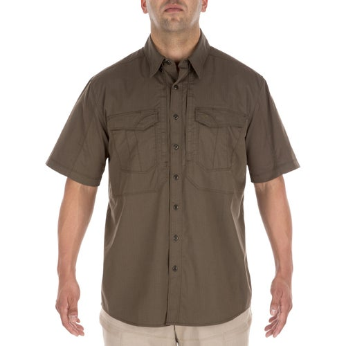 5.11 Tactical Stryke Short Sleeve Long Sleeve Shirt - Tundra