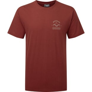Montane Piolet Short Sleeve T-Shirt - Redwood