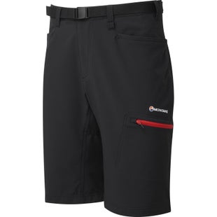 Montane Dyno Stretch Womens Walk Shorts - Black