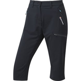 Montane Dyno Stretch Capri Womens Pants - Black
