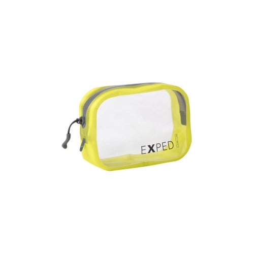 Exped Clear Cube Small Organiser - Yellow