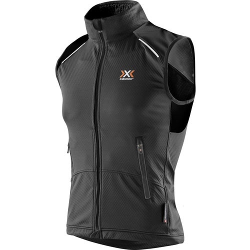 X-Bionic Cross Country Winter SphereWind Light Vest - Black