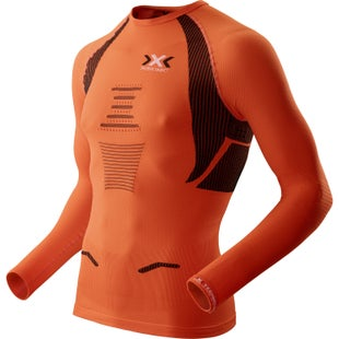 X-Bionic Running Man The Trick LS Base Layer - Orange