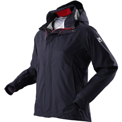 X-Bionic Daily Shell Womens Jacket - Black Red