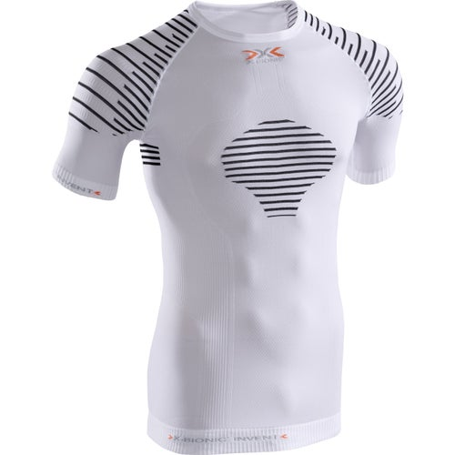 X-Bionic Invent Summerlight SS Base Layer - White Black