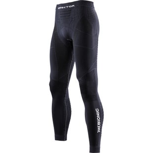 X-Bionic Effektor Trail Running Power Pants Baselayer Bottoms - Black Charcoal
