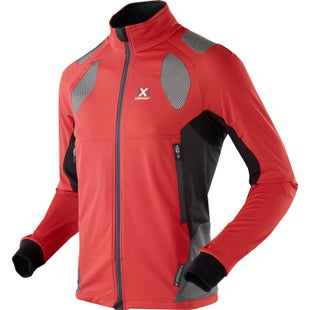 X-Bionic Ski Touring SphereWind Light Jacket - Red Black Anthracite