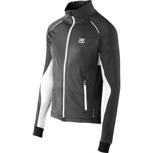 X-Bionic Cross Country Winter SphereWind Light Womens Windproof Jacket - Black White