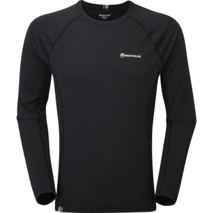 Montane Sonic Long Sleeve Base Layer - Black