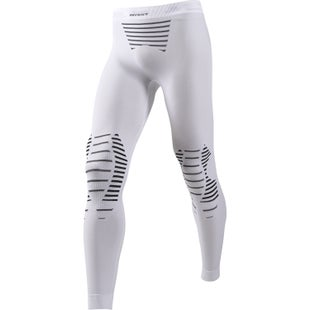 X-Bionic Invent Long Baselayer Bottoms - White Black