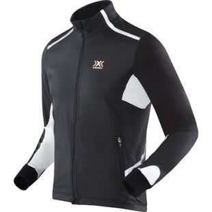 X-Bionic Winter Spherwind Light Running Windproof Jacket - Black White