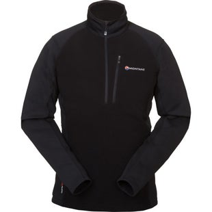 Montane Fury Pull On Fleece - Black