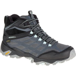 Merrell Moab FST Mid GTX Womens Walking Shoes - Granite