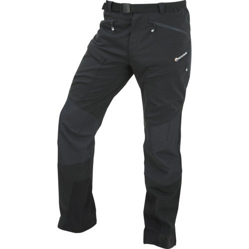 Montane Super Terra Short Length Pants - Phantom Black