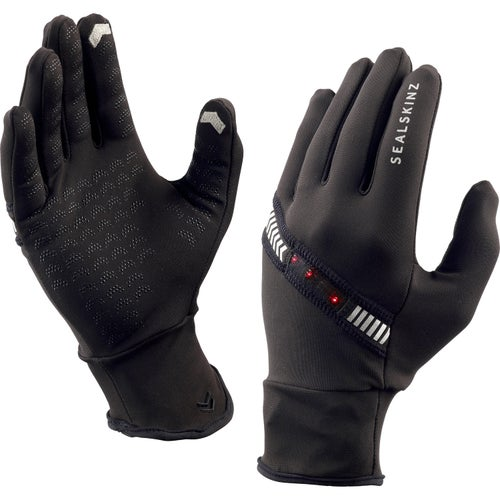 Sealskinz Halo Running Gloves - Black