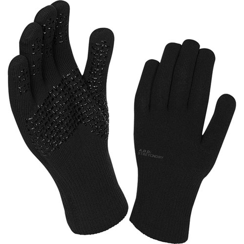Sealskinz Ultra Grip Gloves - Black Anthracite