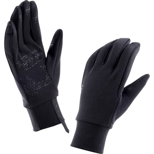 Sealskinz Stretch Fleece Nano Gloves - Black
