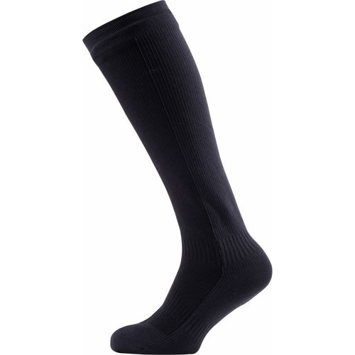 Sealskinz Hiking Mid Knee Outdoor Socks - Black Anthracite