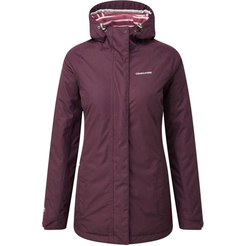 Craghoppers Madigan Classic Thermic Womens Jacket - Dark Rioja Red