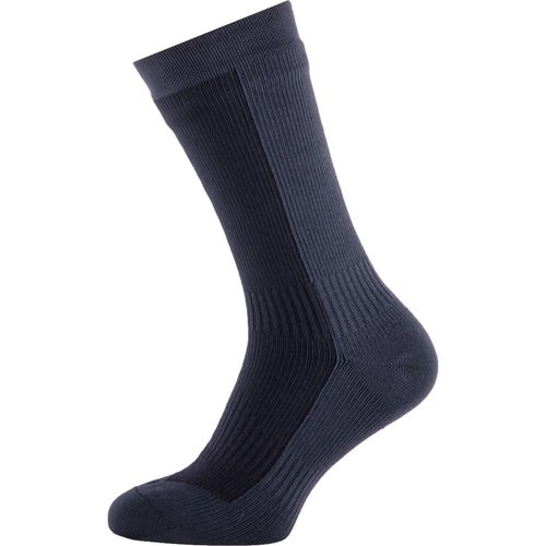 Sealskinz Hiking Mid Mid Outdoor Socks - Black Anthracite