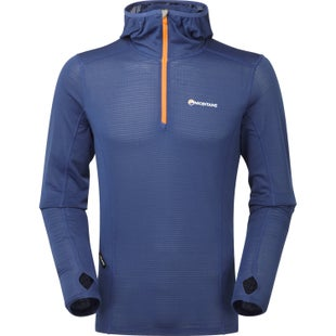 Montane Allez Micro Hoodie Base Layer - Antarctic Blue