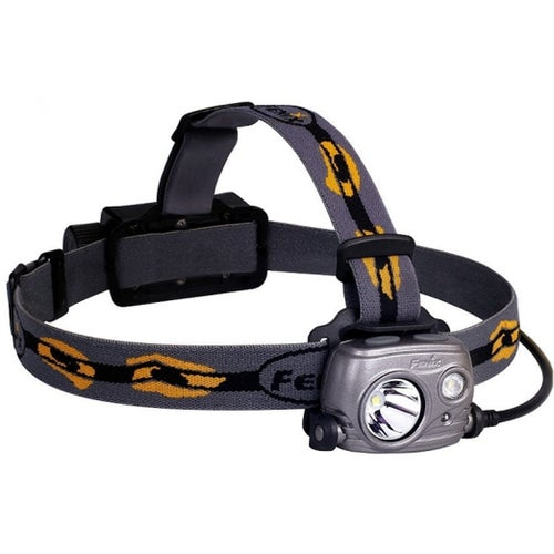 Fenix HP25R Head Torch - Black Yellow