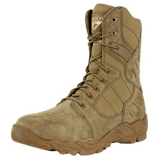 Condor Outdoor Richards 9 Inch Zip Boots - Coyote Brown