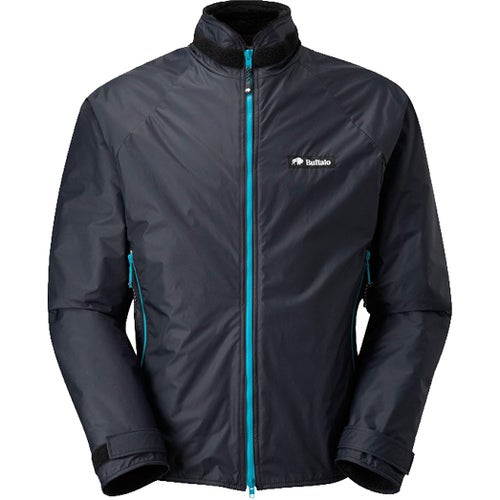 Buffalo Belay Ltd Edition Jacket - Black with Cyan Zips
