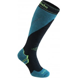 Bridgedale Mountain Snow Socks - Black Green