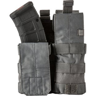 5.11 Tactical Double AK Mag Bungee-Cover Mag Pouch - Storm