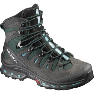 Salomon Quest 4D 2 GTX Womens Boots - Asphalt Green Black Haze Blue