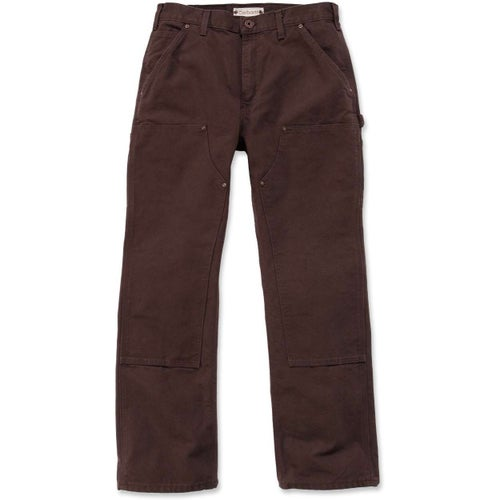 Carhartt Double Front Workwear Pant - Dark Brown