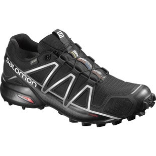 Salomon Speedcross 4 GTX Trail Shoes - Black Black Silver Metallic X