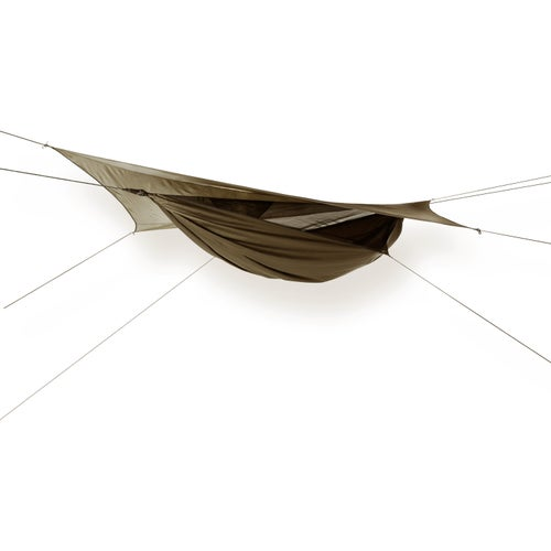 Hennessy Explorer Deluxe Asym Classic Hammock - Coyote Brown