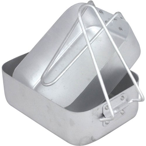 Mil-Com Mess Tin Set Camping Accessory - Silver