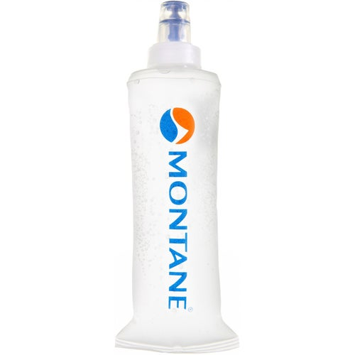 Montane Softflask 250ml Water Bottle - Montane Logo Clear