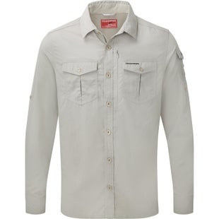 Craghoppers NosiLife Adventure Long Sleeve Shirt - Parchment