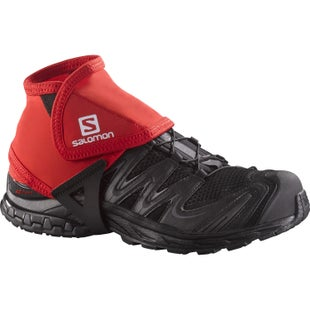 Salomon Trail Low Gaiters - Bright Red
