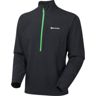 Montane Dyno Stretch Pull on Softshell Jacket - Black