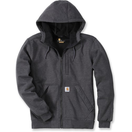 Carhartt Wind Fighter Hooded Jacket - Carbon Heather