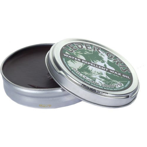 Altberg Leder Gris Original Wax Oil 80g Proofing - MOD Brown