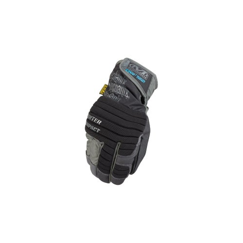 Mechanix Winter Impact Gloves - Black Grey