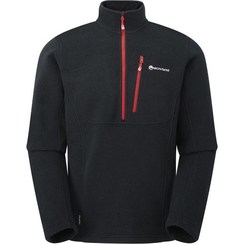 Montane Volt Pull On Fleece - Black