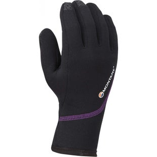 Montane Powerstretch Pro Womens Gloves - Black